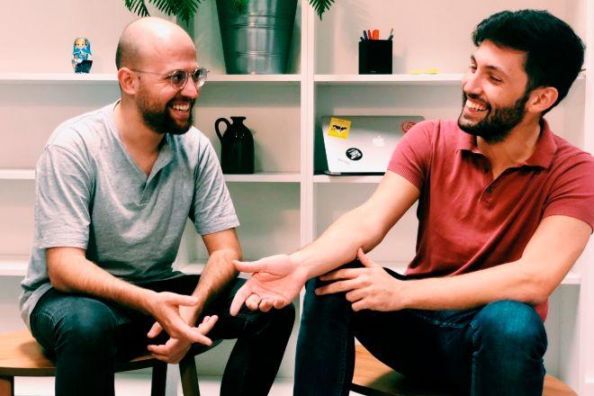 Marc Coloma y Bernat Añaños, cofundadores y máximos ejecutivos de Heura.