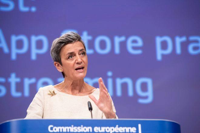 La Comisaria Europea de política digital y competencia, Margrethe Vestager
