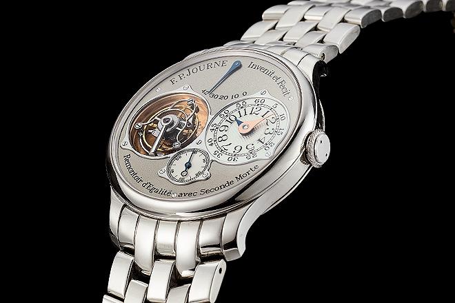 Reloj F.P. Journe Tourbillon Souverain (hasta 210.000 euros).