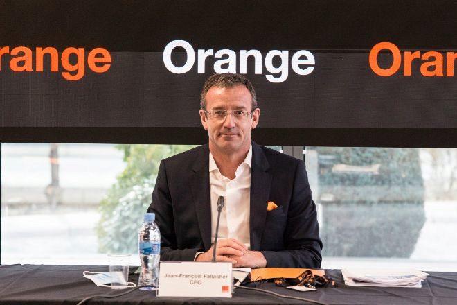 Jean François Fallacher, consejero delegado de Orange en España.
