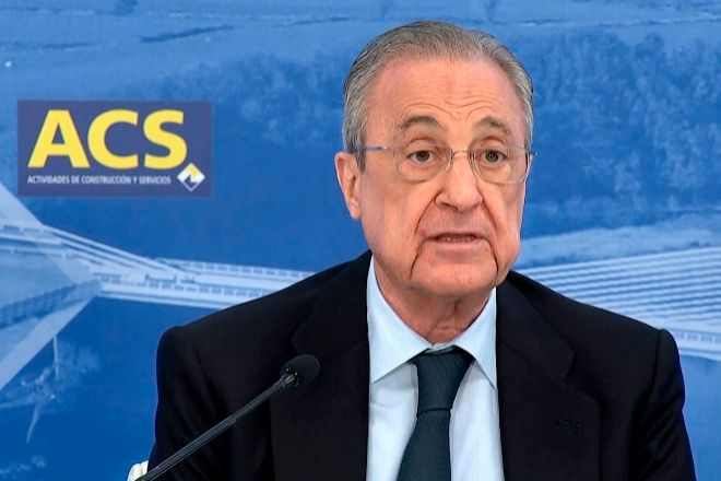 Florentino Pérez preside ACS.