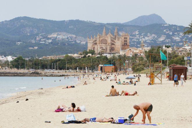 Playa de Palma de Mallorca.