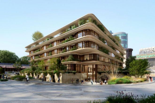 El Corte Inglés levantará un edificio de oficinas para alquiler en el solar de Adif en Castellana