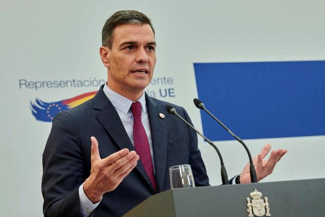 El presidente del Gobierno español, Pedro Sánchez, el pasado viernes en Bruselas.