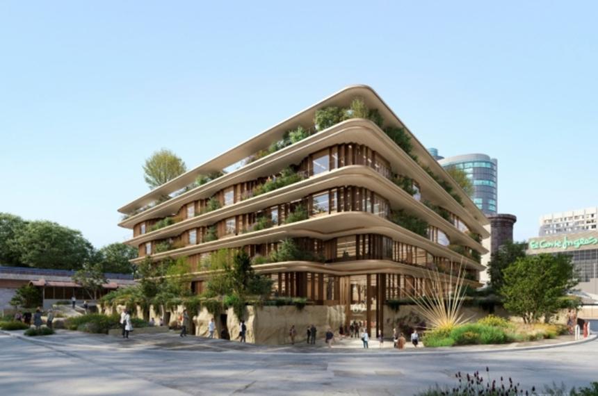 Heatherwick, estudio que está ocupándose del desarrollo de las sedes de Google en Londres y en Silicon Valley, se encargará del diseño del edificio.