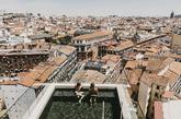 Plaza de España, el Palacio Real, la Casa de Campo, la sierra de...