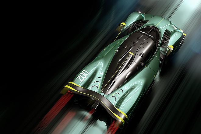 Vista cenital. Desde Aston Martin prevén que el coche complete una vuelta a La Sarthe en un tiempo alineado con el de los prototipos de la categoría LMP1 de Le Mans.