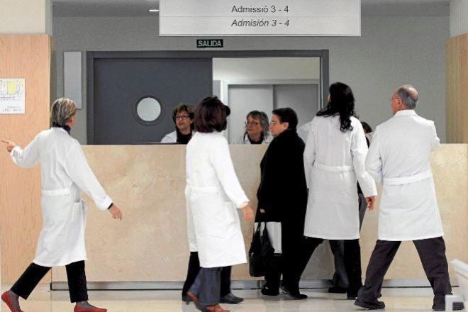 La sanidad, junto con la educación, concentran la mayor parte del empleo público.