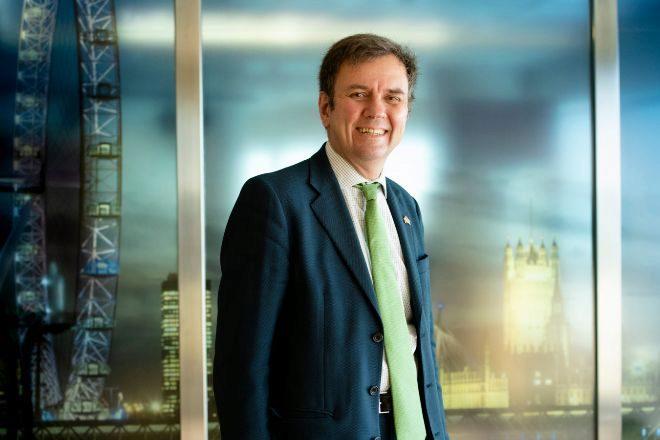 El secretario de Estado de Comercio de Reino Unido Greg Hands.