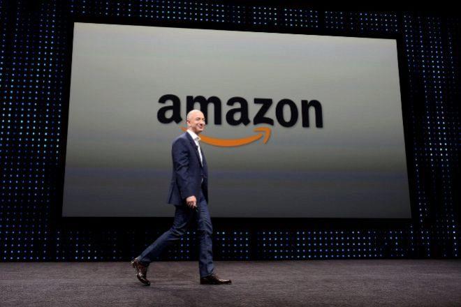 Jeff Bezos, fundador y presidente ejecutivo de Amazon.
