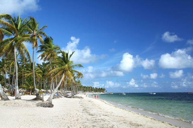 Playa de Punta Cana.