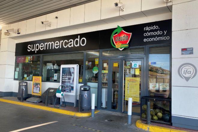 Supermercado Claudio Express abierto en la provincia de Segovia.
