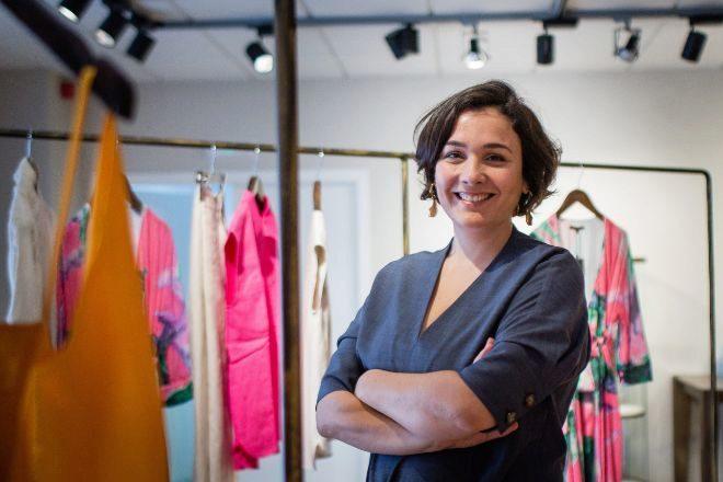 Adriana Domínguez, presidenta ejecutiva de Adolfo Domínguez, y tercera generación en la empresa.