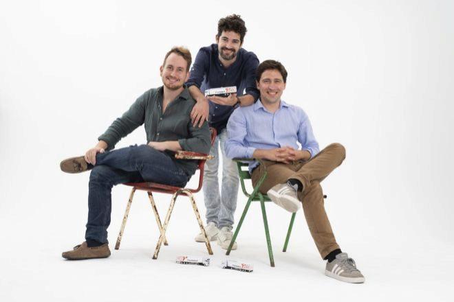 Gabor Balogh, Ramón Castro y Luis Bardaji, fundadores de Trucksters.