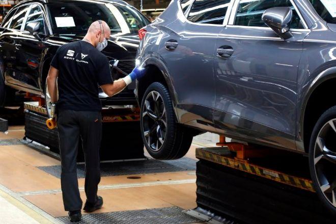 La filial de Volkswagen prevé fabricar 500.000 vehículos eléctricos en su planta de Martorell a partir de 2025.