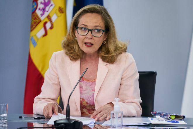 La vicepresidenta primera y ministra de Asuntos Económicos y Transformación Digital, Nadia Calviño.
