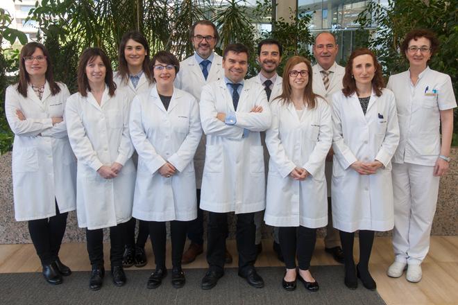 Los miembros del Laboratorio de Oftalmología Experimental de la CUN que participan en el proyecto 'La ceguera de hoy y de mañana' en colaboración con la Fundación Multiópticas.