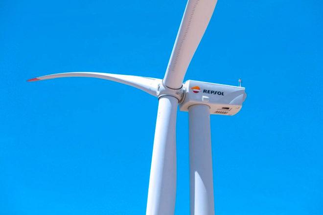 Repsol tiene tres proyectos eólicos en España, uno de ellos ya en funcionamiento en Aragón con 335 megavatios.