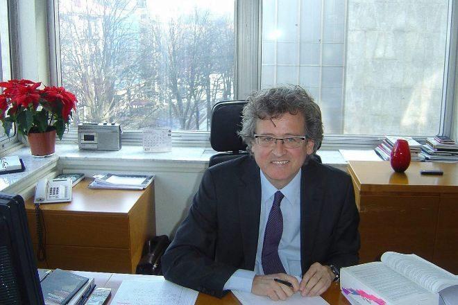Tomás Arrieta es presidente del Consejo de Relaciones Laborales (CRL) vasco.