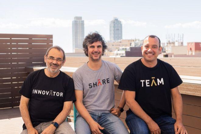 Quino Fernández, Gabriel Espín  y David Uriarte, socios fundadores de Aticco.