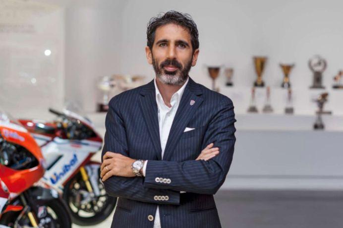 Francesco Milicia, vicepresidente y director global de ventas de Ducati.