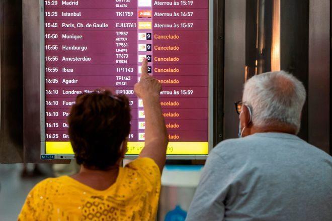 Cancelados 327 vuelos en Portugal el segundo día de huelga de los servicios de 'handling'