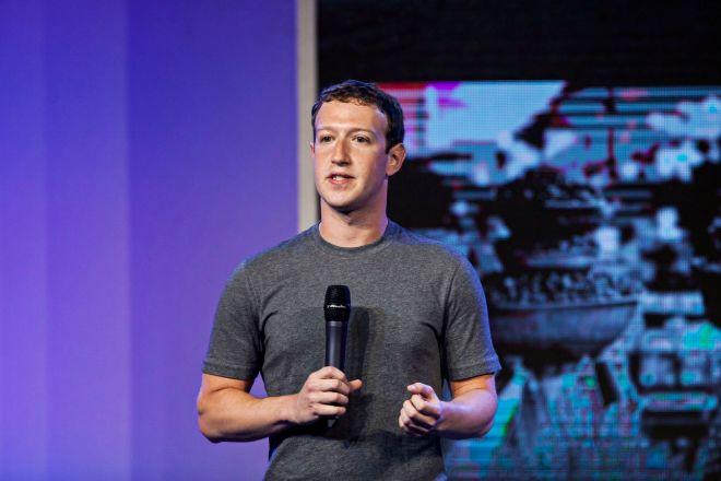 Mark Zuckerberg, fundador de Facebook, cuando anunció la adquisición de WhatsApp.