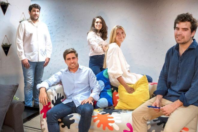 Equipo de Qlip, 'proptech' fundada en 2020 por Pablo y Jaime García.