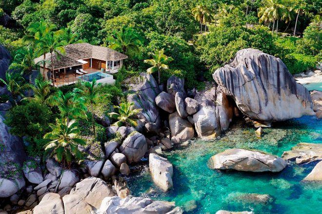 Una villa del Six Senses Zil Pasyon (Seychelles)