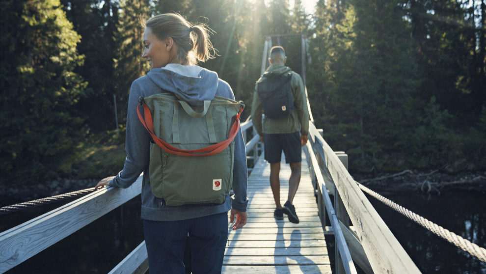 mochilas para viajar de Fjällräven