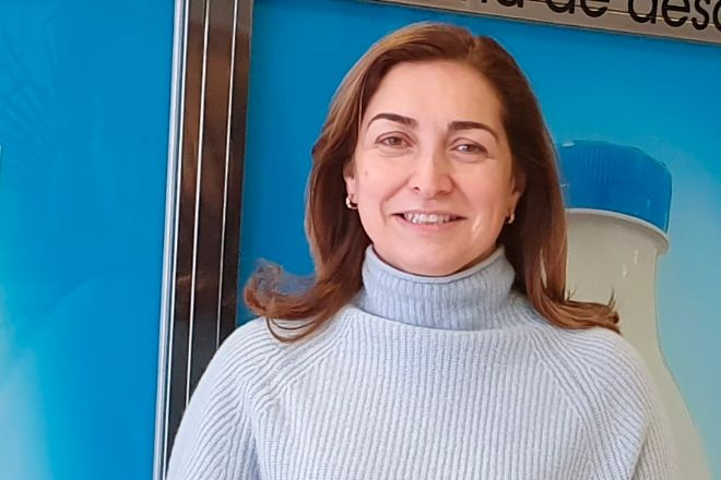 María del Carmen Lence Ferreiro, presidenta del grupo Leche Rio.