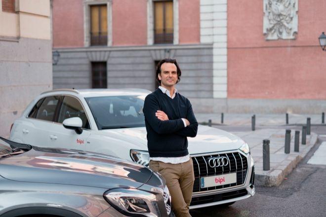 Alejandro Vigaray, cofundador de Bipi, la 'start up' que introdujo el modelo de suscripción en el mercado español.