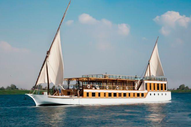 Crucero por el Nilo.