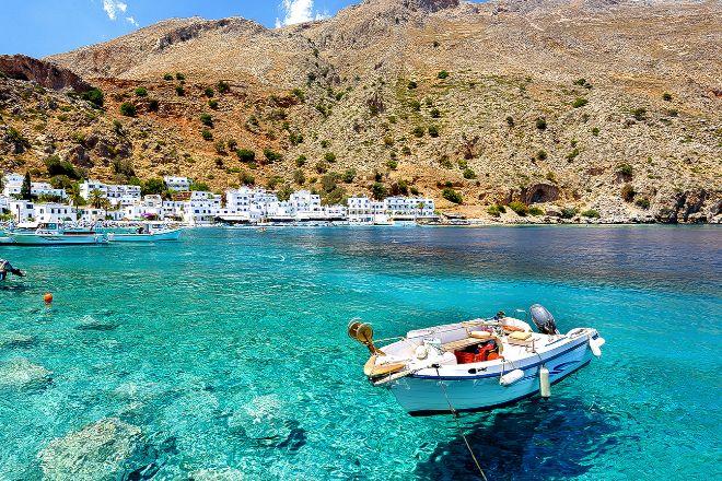 Vista de la isla de Creta.