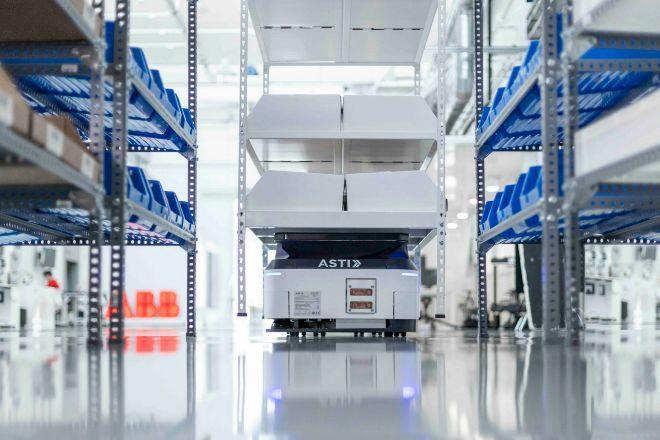 Los robots de la empresa española ASTI