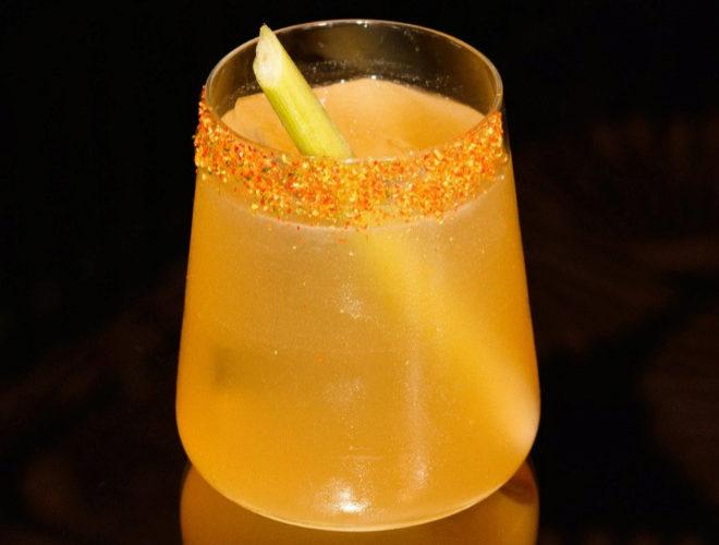 Refrescante versión en cóctel del gazpacho elaborado por Baan.