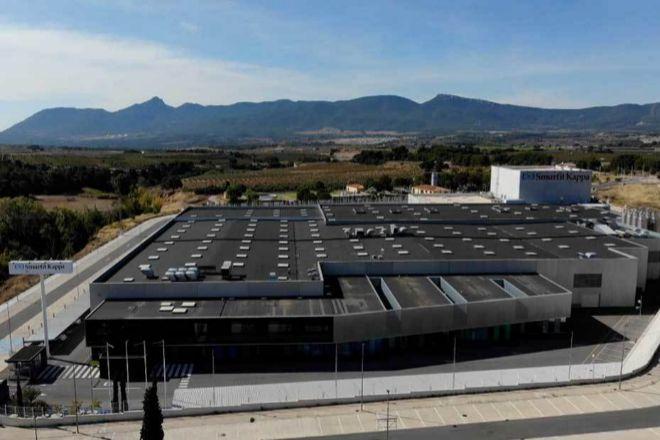Instalaciones de Smurfit Kappa en Ibi (Alicante).