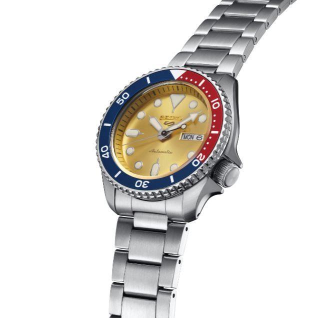 El Seiko 5 Sports Custom Watch Beatmaker 2021 se pone a la venta en agosto por 300 euros.