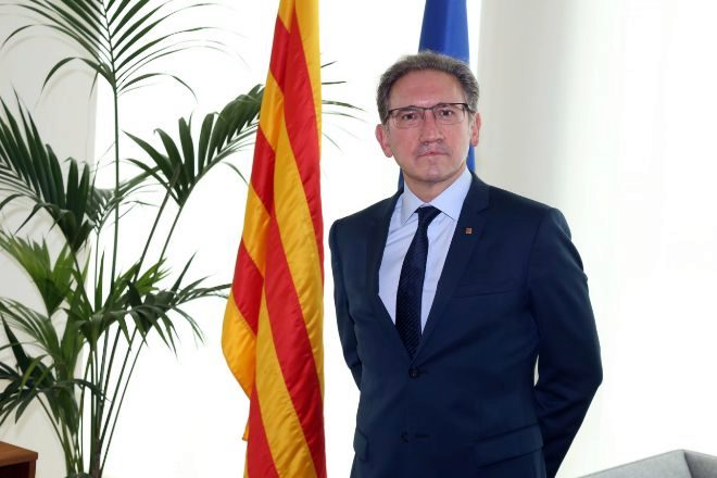 El consejero de Economía y Hacienda de la Generalitat, Jaume Giró, en una imagen de archivo.