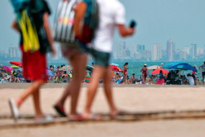 El turismo aún se ve afectado por la quinta ola, pero la previsión es optimista para el segundo semestre.
