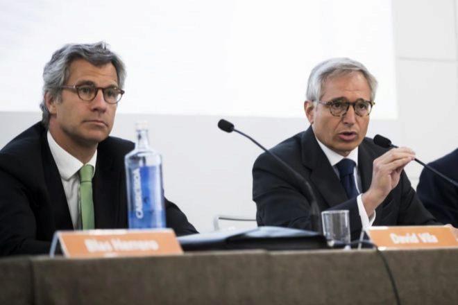 El CEO de Renta, David Vila, y el presidente, Luis Hernández De Cabanyes.