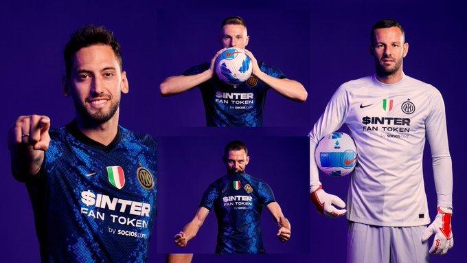 Nueva conquista del blockchain: Socios.com reemplaza a Pirelli en el frontal de la camiseta del Inter