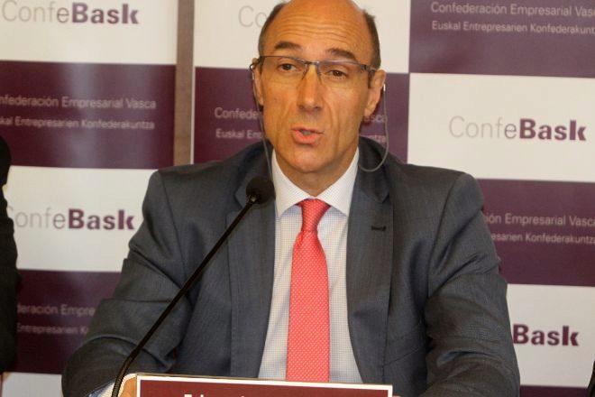 Eduardo Zubiaurre es el presidente de Confebask.