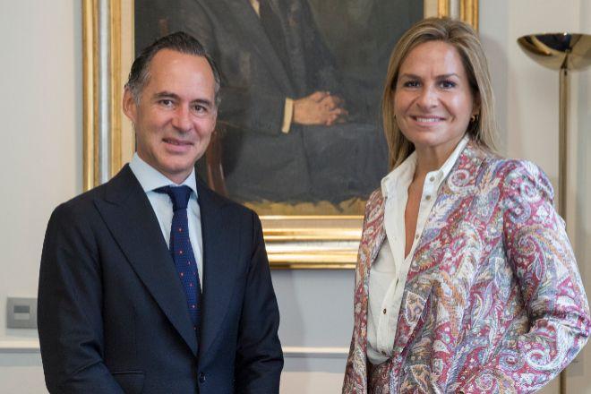 Íñigo Sagardoy, presidente de Sagardoy Abogados, y Vanessa Izquierdo, directora general de Sagardoy Business & Law School.
