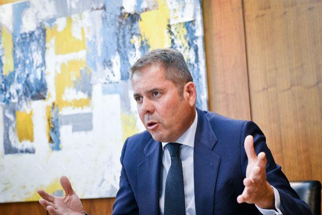 El presidente de Cepyme, Gerardo Cuerva, en una entrevista con Expansión.