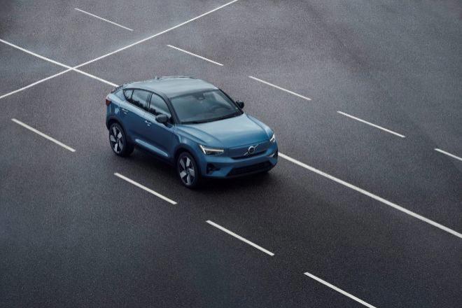 Coche eléctrico Volvo Recharge.