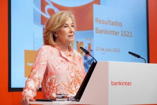 Mª Dolores Dancausa, consejera delegada de Bankinter, ayer.