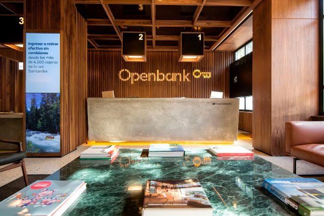 Oficina principal de Openbank en Madrid.