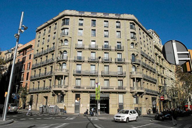 Sede del Institut Català de Finances (ICF), el organismo de crédito oficial de la Generalitat.