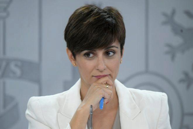 La ministra Portavoz y ministra de Política Territorial Isabel Rodríguez.
